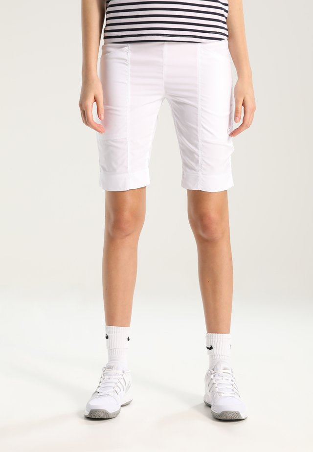 BERMUDA BENTE - Sports shorts - white