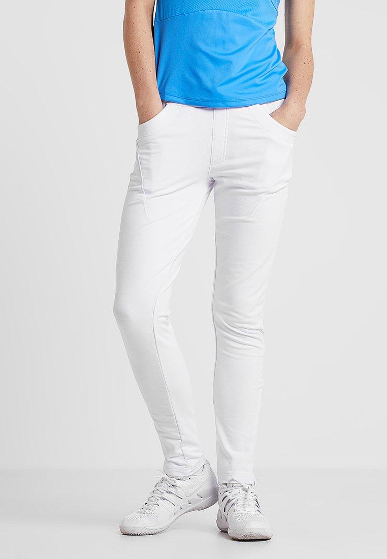 Limited Sports - SAMY - Tracksuit bottoms - white
