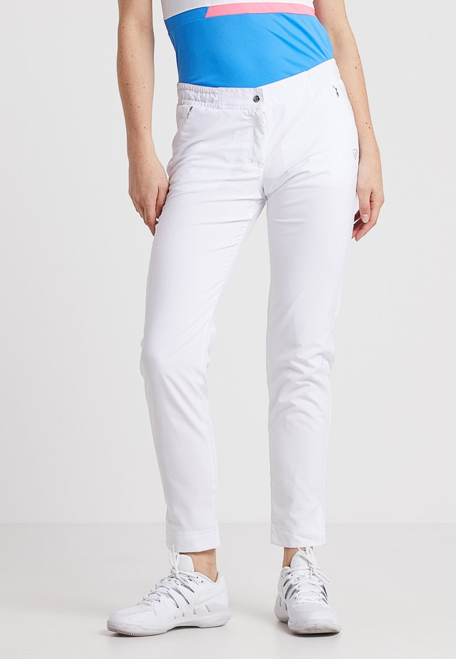 LONGPANT - Trousers - white