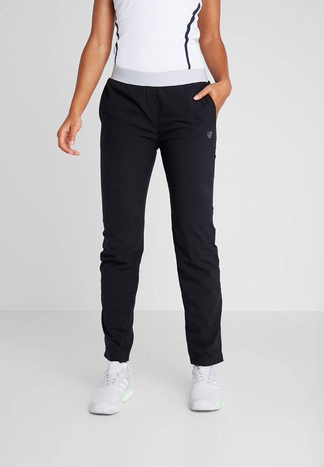 PANT PIA - Tracksuit bottoms - black