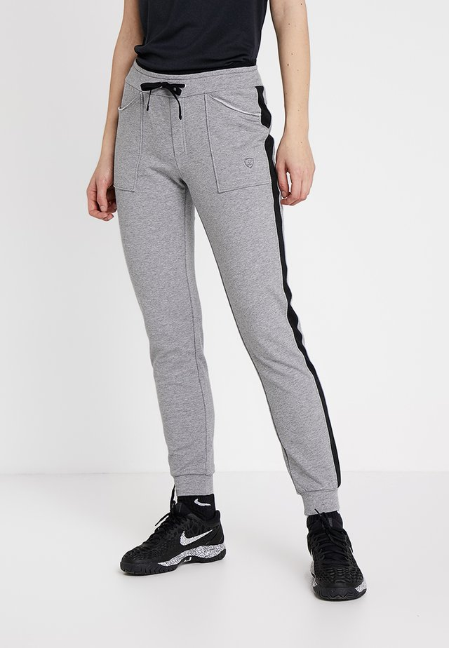 SWEATPANT SAMU - Pantaloni sportivi - light grey/black