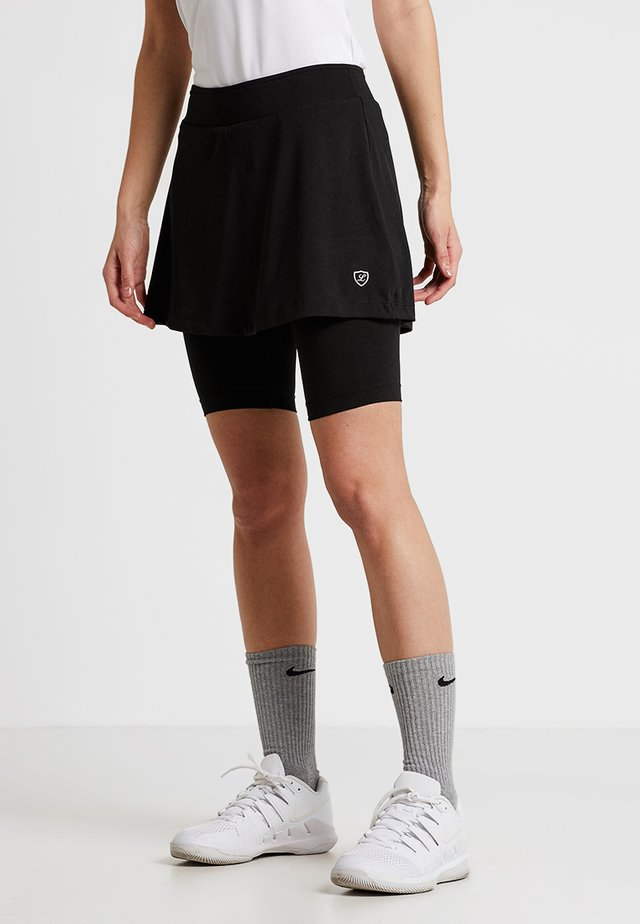 SKORT SULLY - Sportkjol - black
