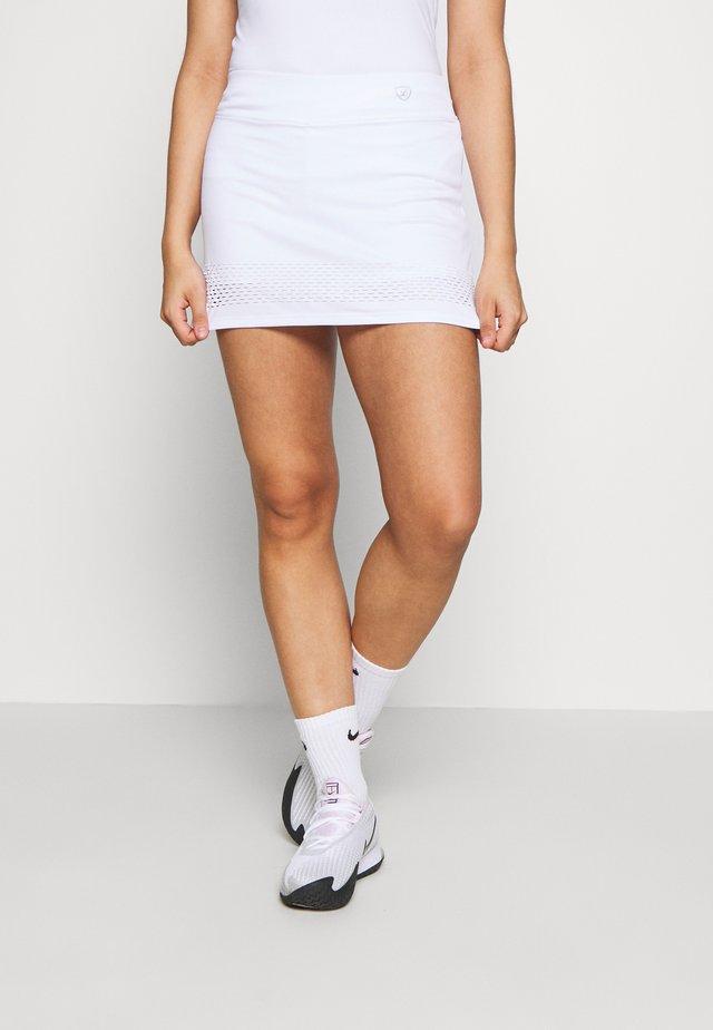 SKORT SINA - Sports skirt - white