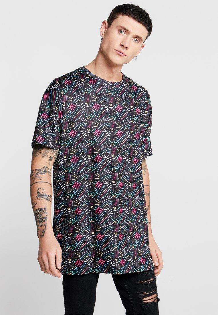Liquor N Poker - GLITTERATI  - Print T-shirt - black