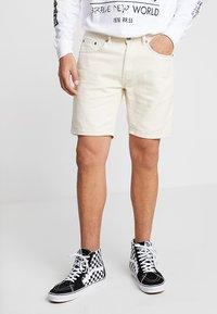 Liquor N Poker - MIAMI - Jeans Shorts - ecru - 0