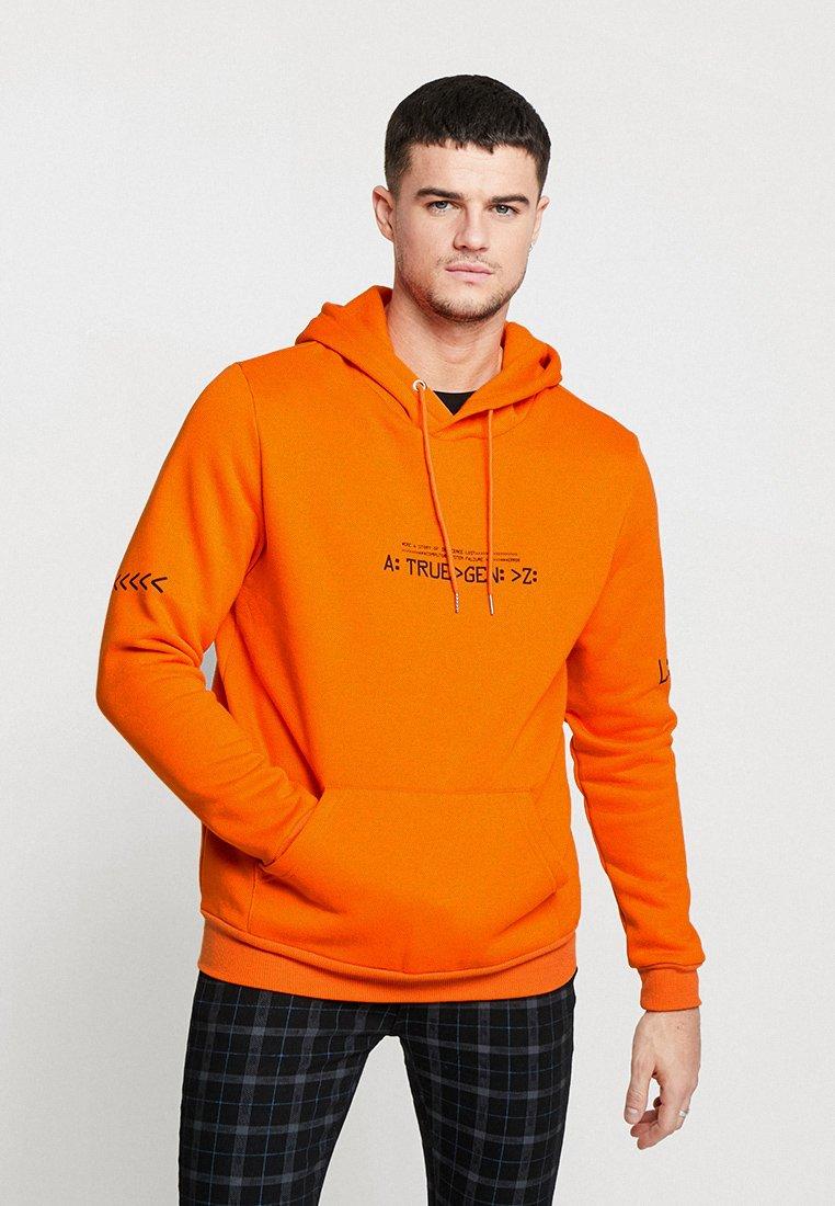 Liquor N Poker - HOODIE WITH FUTURE GEN - Hoodie - orange
