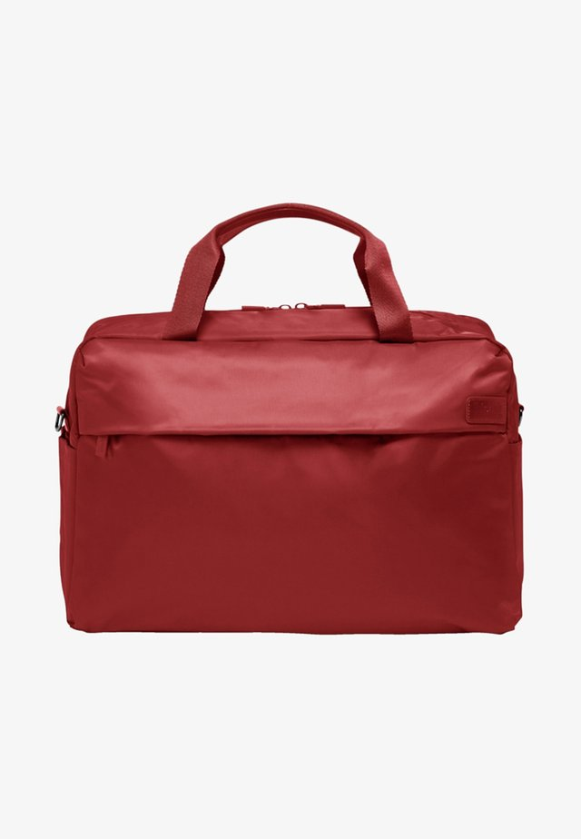 CITY PLUME - Weekend bag - cherry red