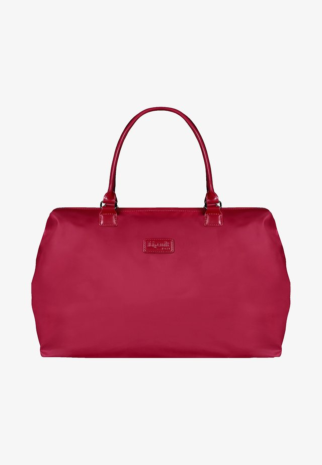 Weekend bag - amaranth red