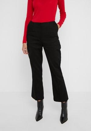 FLAUNT - Kalhoty - black