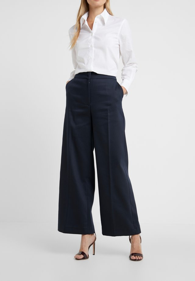 LARK - Trousers - navy