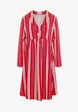 MIRROR - Denní šaty - red/off white