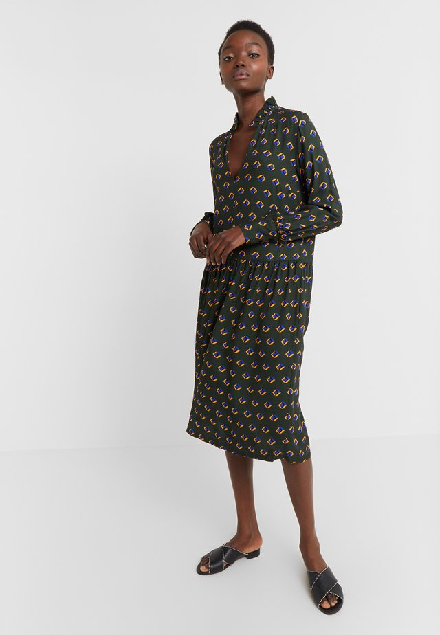 ALLEY - Day dress - olive