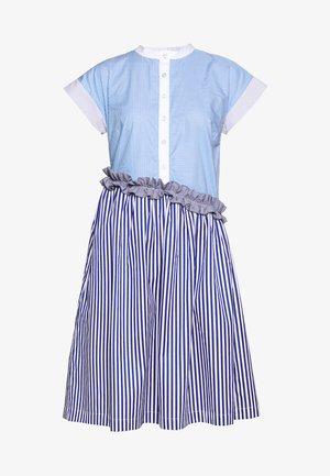 DANCE - Košilové šaty - blue