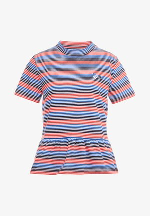 AWARD - T-shirt print - red stripe