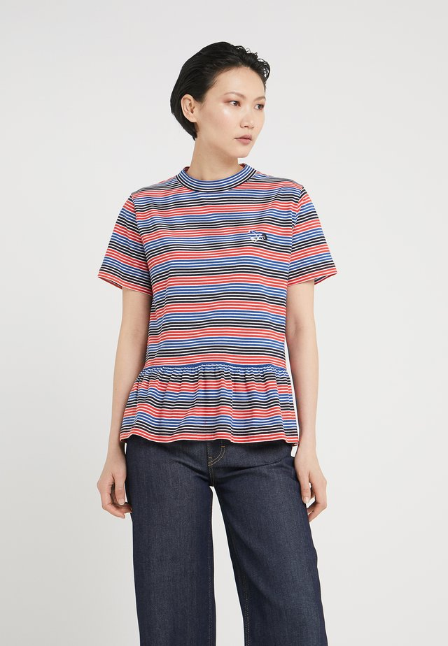 AWARD - T-Shirt print - red stripe