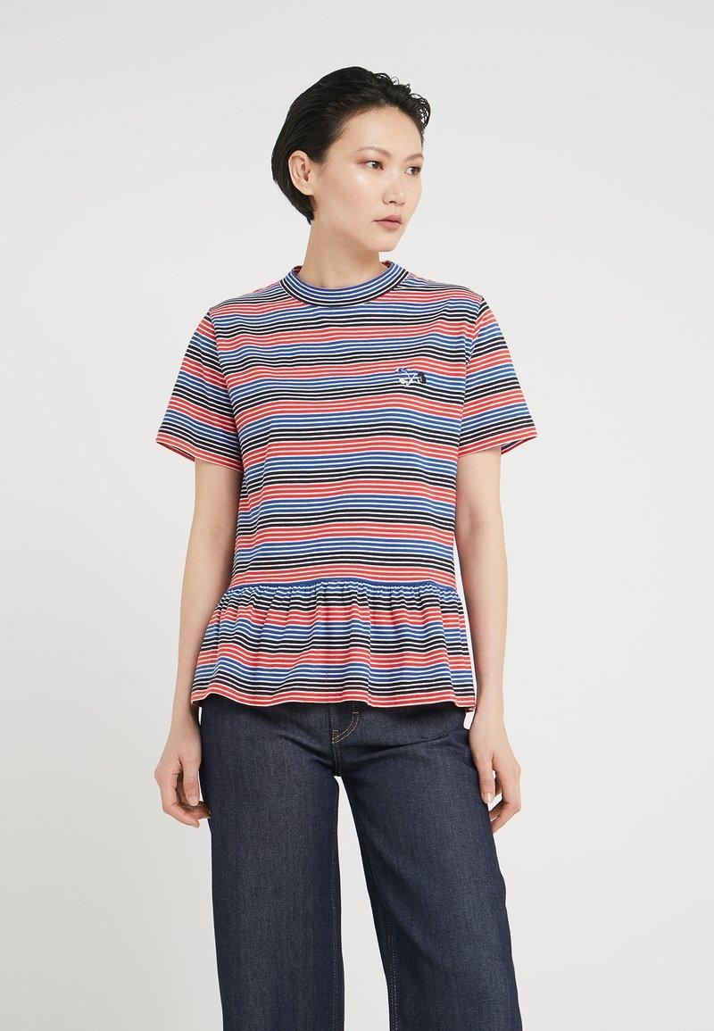 Libertine-Libertine - AWARD - Print T-shirt - red stripe