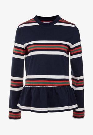 WAKE - Long sleeved top - blue stripe
