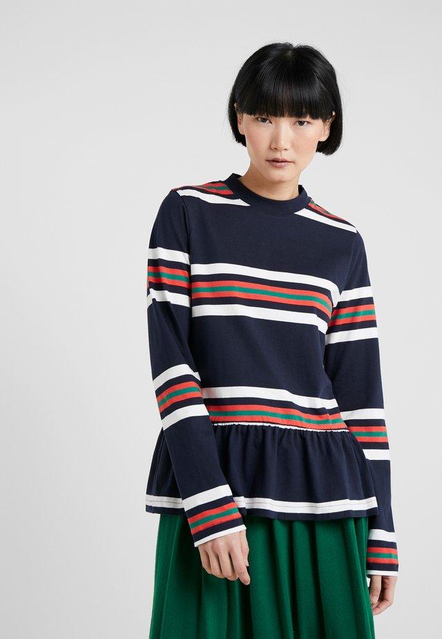 WAKE - Langarmshirt - blue stripe