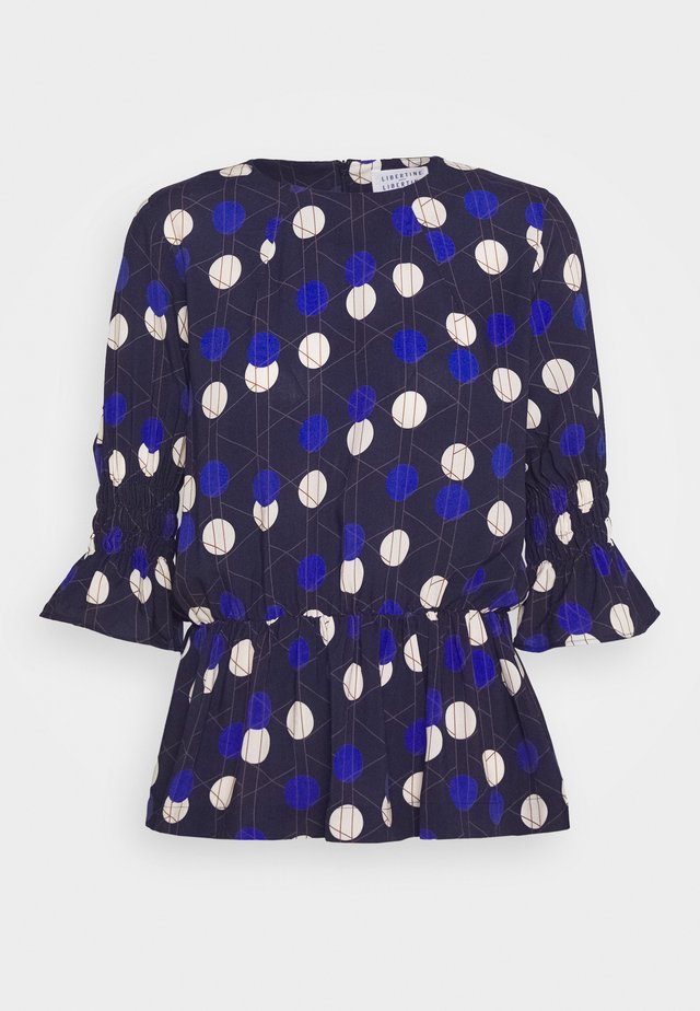 PIN - Bluzka - royal blue
