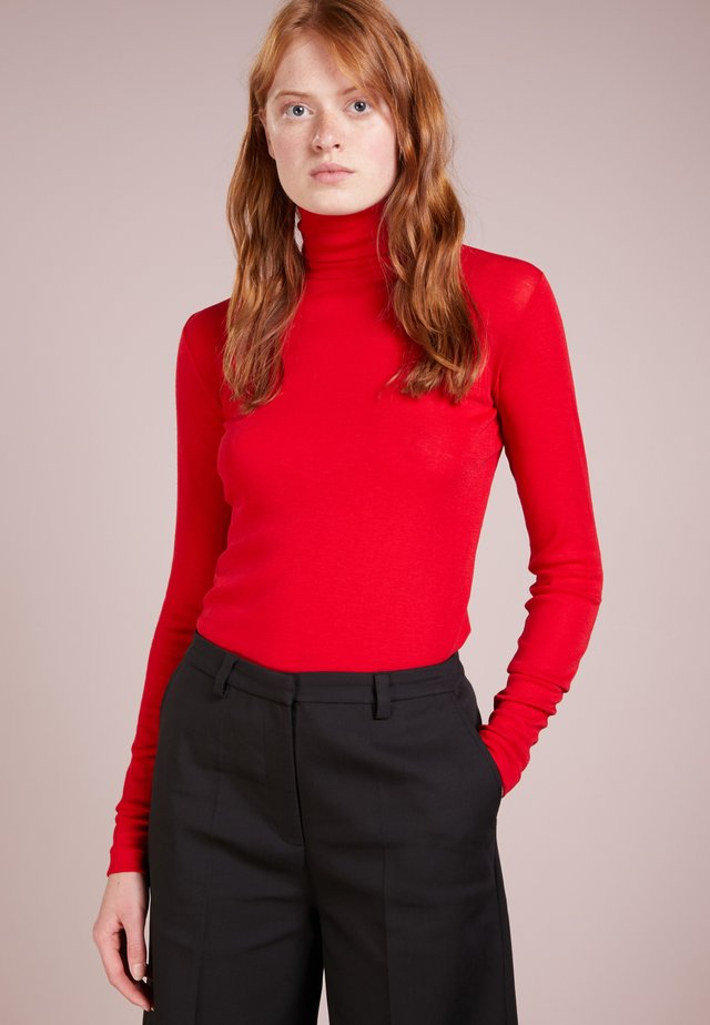TAIL - Strickpullover - apple red