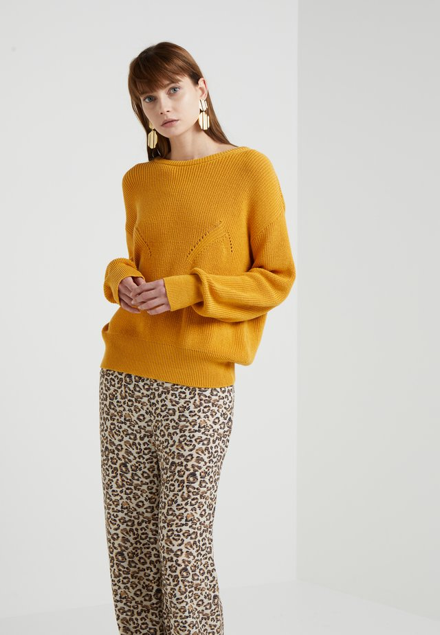 MEMORY - Strickpullover - radiant yellow