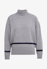 Libertine-Libertine - HUSKY - Pullover - grey melange/dark navy - 5
