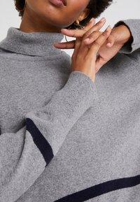 Libertine-Libertine - HUSKY - Pullover - grey melange/dark navy - 4