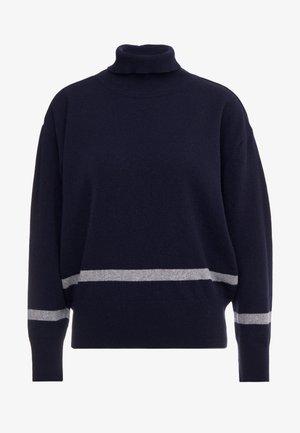 HUSKY - Pullover - dark navy/grey melange