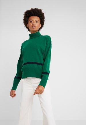 HUSKY - Pullover - voo green/dark navy