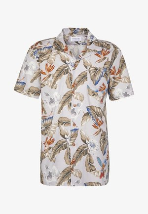 CAVE - Shirt - light grey/multicoloured