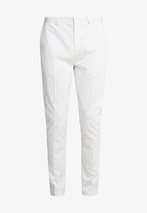 TRANSWORLD - Spodnie materiałowe - white