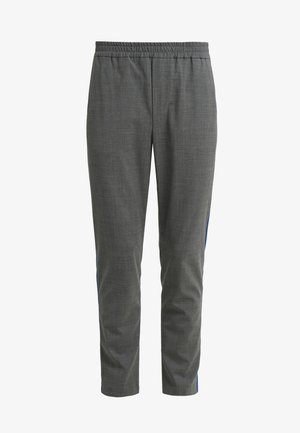 BELIEF RIBBON - Pantaloni - light grey/blue