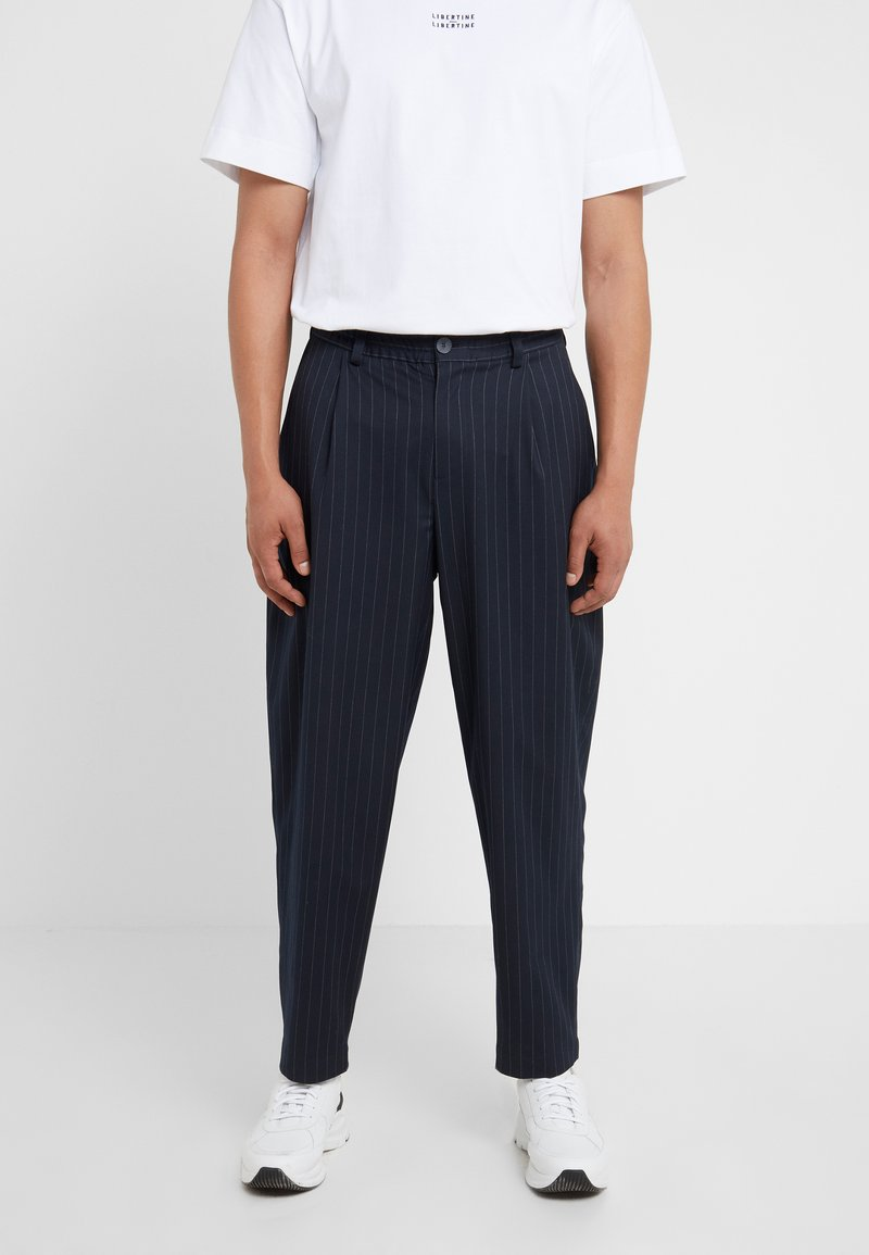 Libertine-Libertine - HELTERSKELTER TROUSERS - Trousers - navy