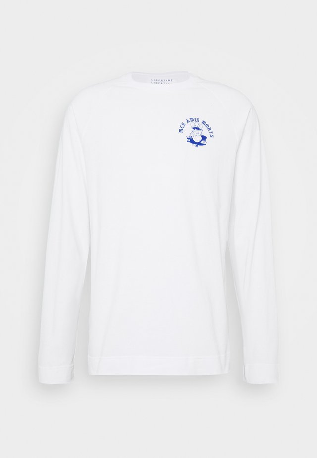 LECTURE AMIS - Longsleeve - white