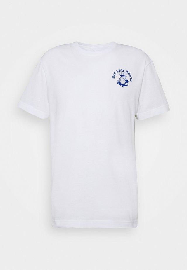 BEAT AMIS - T-shirt print - white