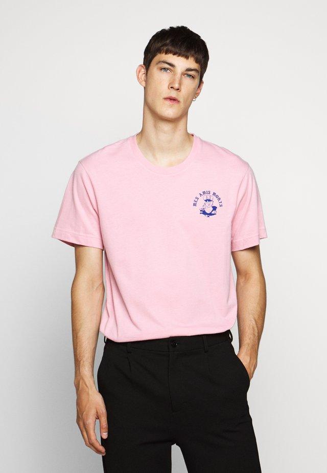 BEAT AMIS - T-shirts med print - orchid smoke