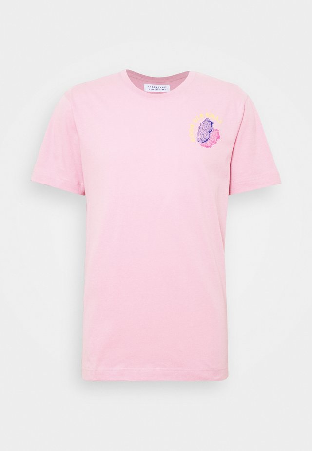BEAT GIGAS - Triko spotiskem - pink