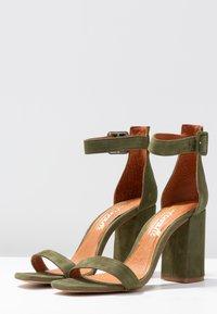 L'INTERVALLE - NELLA - High heeled sandals - khaki - 4