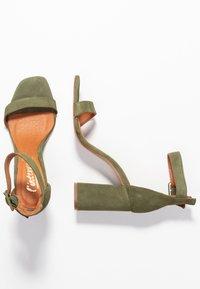 L'INTERVALLE - NELLA - High heeled sandals - khaki - 3