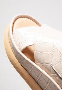 L'INTERVALLE - REME - Platform sandals - light beige - 2