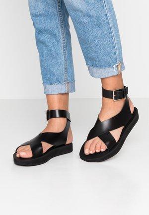 RIVIERA - Sandals - black