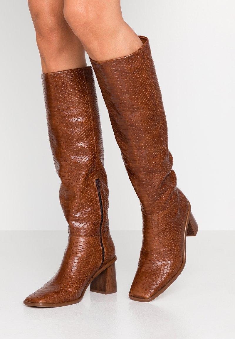 L'INTERVALLE - CARSI - Boots - tan