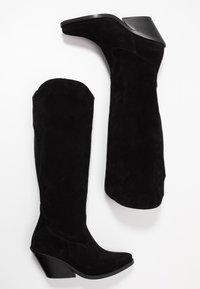 L'INTERVALLE - Cowboystøvler - black - 3