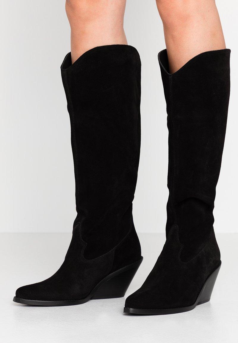 L'INTERVALLE - Cowboystøvler - black