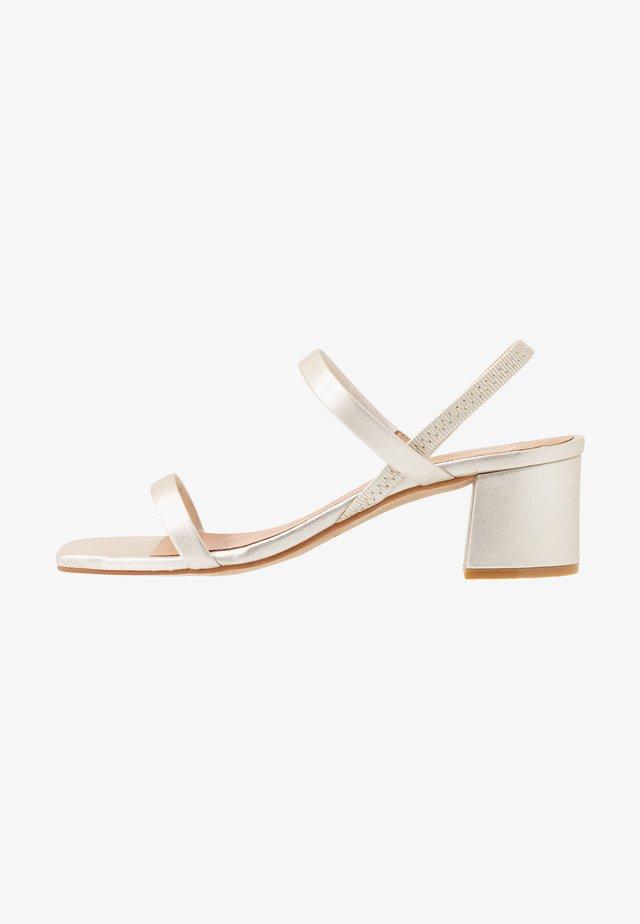 KENDI - Sandals - silver