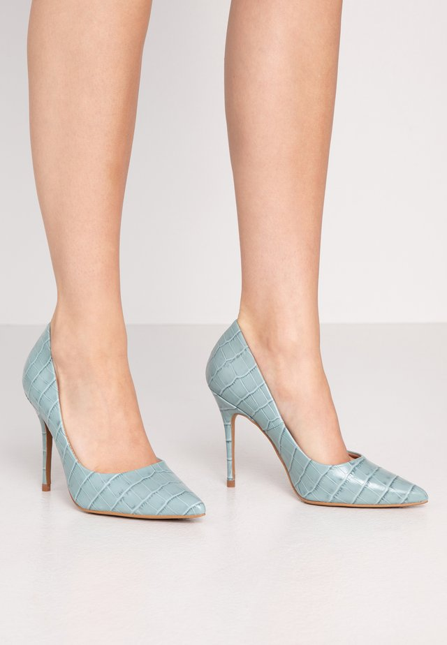 TEEVA - High heels - cielo lirio