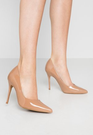 TEEVA - High Heel Pumps - moka