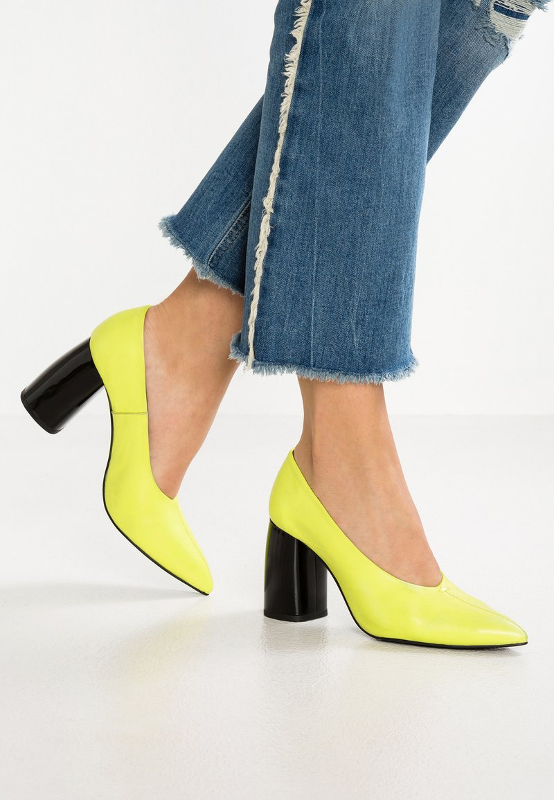 L'INTERVALLE - ADELAIDE - Pumps - yellow