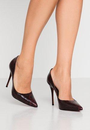 TEEVA - High heels - burgundy