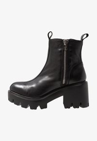 L'INTERVALLE - MATRIX - Cowboy/biker ankle boot - black - 1